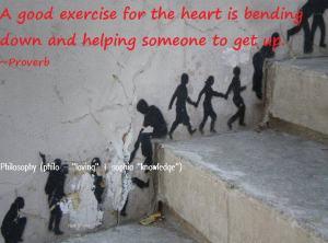 Bending - good heart exercise